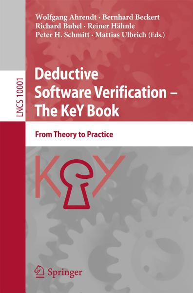 Download Deductive Software Verification     The KeY Book Book