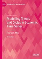 Modelling Trends and Cycles in Economic Time Series PDF