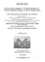 Diccionario de geographia universal  por uma sociedade de homens de sciencia PDF