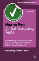 How to Pass Verbal Reasoning Tests
