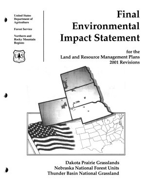 Final Environmental Impact Statement for the Land and Resource Management Plans, 2001 Revisions