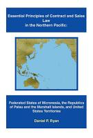 Essential Principles of Contract and Sales Law in the Northern Pacific PDF