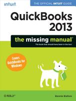 QuickBooks 2013  The Missing Manual PDF
