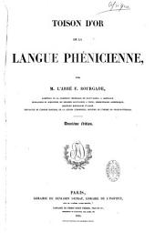 Toison d'or de la langue phénicienne
