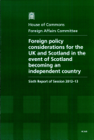Foreign policy considerations for the UK and Scotland in the event of Scotland becoming an independent country PDF