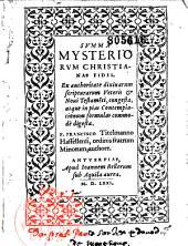 Summa mysteriorum christianae fidei... F. Francisco Titelmanno