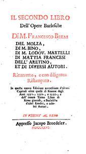 Il primo [-terzo] libro dell' opere burlesche: Volume 2