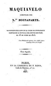 Maquiavelo comentado: Volumen 10275
