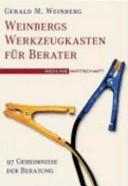 Weinbergs Werkzeugkasten f  r Berater PDF