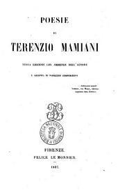 Poesie di Terenzio Mamiani