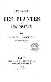 Légendes des plantes et des oiseaux