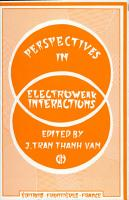Perspectives of Electroweak Interactions PDF