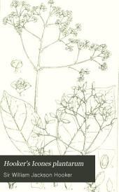 Hooker's Icones Plantarum: Volume 16