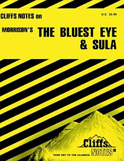 CliffsNotes on Morrison s The Bluest Eye   Sula Book