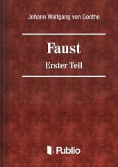 Faust - Erster Teil: Band 1