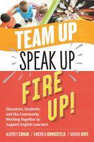 Team Up  Speak Up  Fire Up  PDF