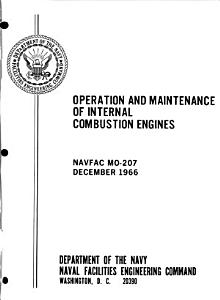Operation and Maintenance of Internal Combustion Engines PDF