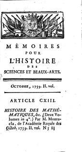 Journal de Trévoux: Volume5