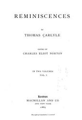 James Carlyle. Jane Welsh Carlyle. Appendix