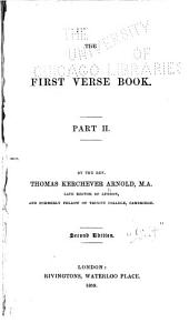 The First Verse Book: Volume 2