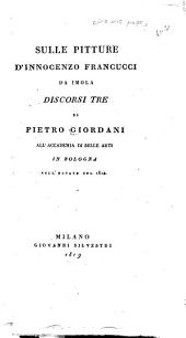 Sopra tre poesie dipinte a frsco nel Casino della Viola