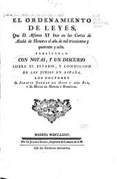 El ordenamiento de leyes: que d. Alfonso XI hizo en las Cortes de Alcalá de Henares el año de mil trescientos y quarenta y ocho, Número 2