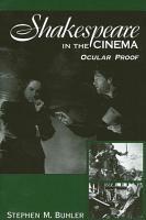 Shakespeare in the Cinema PDF