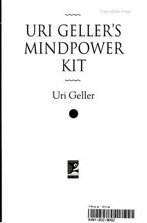Uri Geller s Mindpower Kit