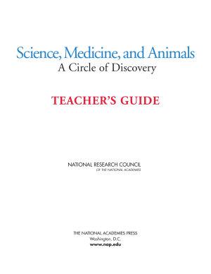 Science, Medicine, and Animals