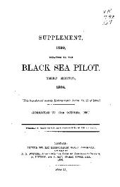The Black Sea Pilot