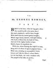 A Poetical Epistle to an Eminent Painter..
