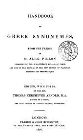 Handbook of Greek synonymes, from the Fr., ed. with notes by T.K. Arnold