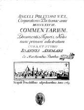 Coniurationis Pactianae anni 1478 Commentarium