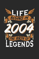 Download Life Begins in 2004 the Birth of Legends Book