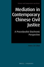 Mediation in Contemporary Chinese Civil Justice PDF