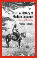 A History of Modern Lebanon PDF