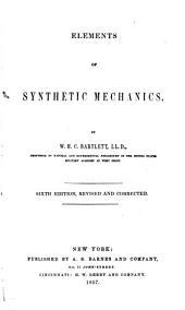 Elements of synthetic mechanics