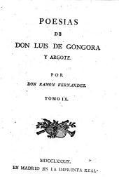 Poesías de Don Luis de Gongora y Argote