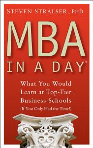MBA In A Day Book