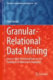Granular-Relational Data Mining: How to Mine Relational Data in the Paradigm of Granular Computing?
