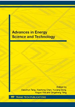 Advances in Energy Science and Technology PDF