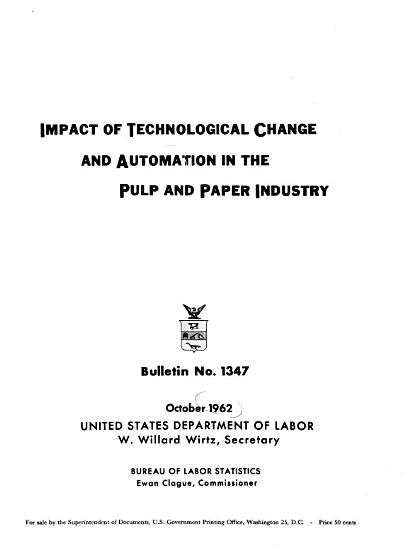 Impact of Technological Change and Automation in the Pulp and Paper Industry PDF