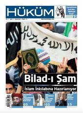HÜKÜM Dergisi 1.Sayı: Bilad-ı Şam İslam İnkılabına Hazırlanıyor