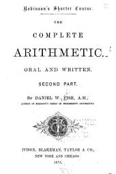 The Complete Arithmetic: Oral and Written, Volume 2