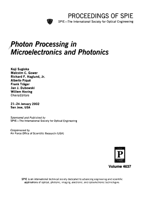 Photon Processing in Microelectronics and Photonics PDF