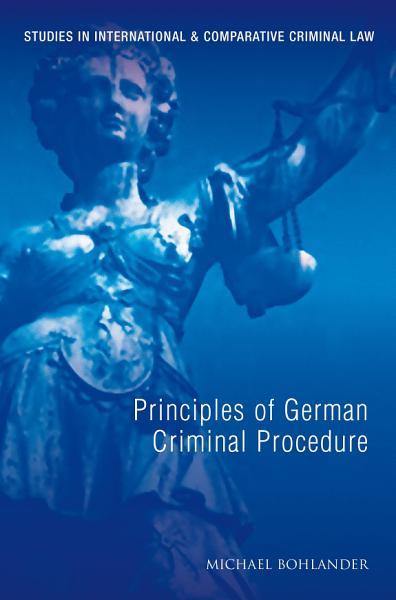 Download Principles of German Criminal Law Book