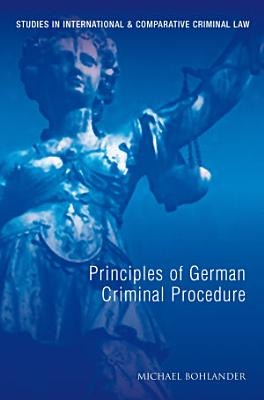 Principles of German Criminal Law PDF