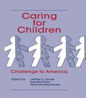 Caring for Children PDF