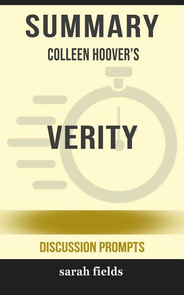 Summary Colleen Hoovers Verity