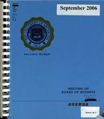 Meeting of Board of Regents PDF